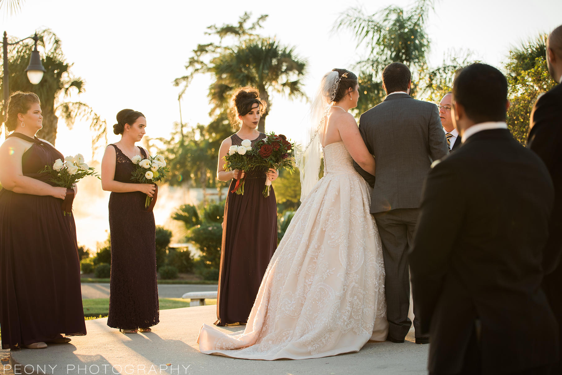 burgundy-bridesmaids-wedding